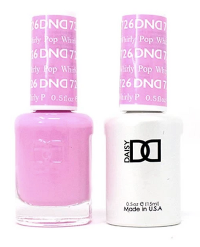 DND Duo Gel - #726 WHIRLY POP