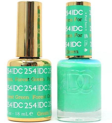 DND DC Duo Gel - #254 Forest Green