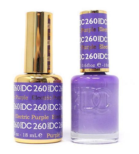 DND DC Duo Gel - #260 Electric Purple