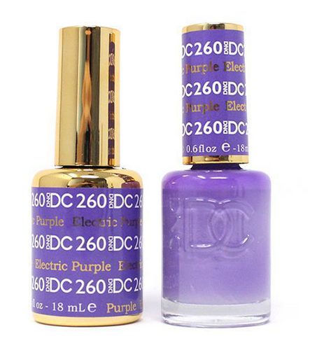 DND DC Duo Gel - #260 Electric Purple