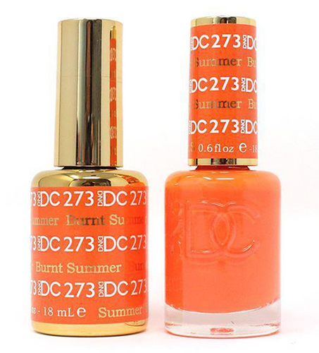 DND DC Duo Gel - #273 Burnt Summer