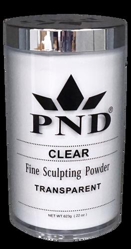 PND Acrylic Powder (Fine Sculpting Powder) - Clear 22 oz.