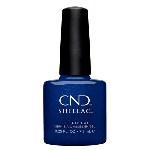 CND SHELLAC UV Color Coat - #00116 Sassy Sapphire - Crystal Alchemy Collection .25oz