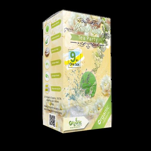 2E Organic - Bomb Spa 9 in 1 Case(50 boxes)  - Tea Party