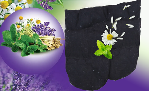 2E Organic - Healing Herbal Wraps  - Herbal Inner Gloves - Mix Herbs