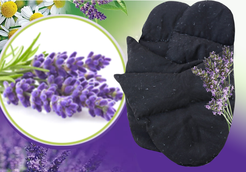 2E Organic - Healing Herbal Wraps  - Herbal Inner Booties - Lavender