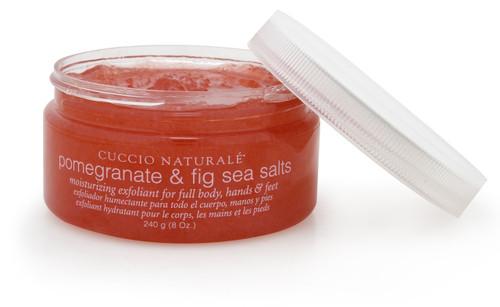 Cuccio Pomegranate & Fig Sea Salts 8 oz