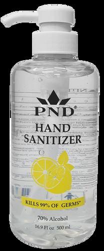 Hand Sanitizer Origem 70% Alcohol 16.9oz with Pump