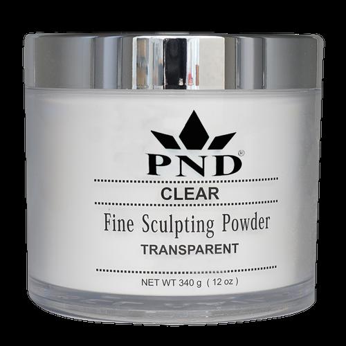 PND Acrylic Powder (Fine Sculpting Powder) - Clear 12oz