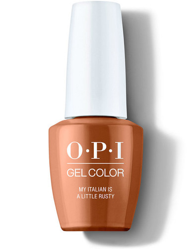OPI GelColor - #GCMI03 - My Italian is a lLittle Rusty - Muse of Milan Collection .5 oz