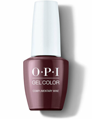 OPI GelColor - #GCMI12 - Complimentary Wine - Muse of Milan Collection .5 oz