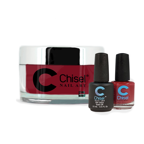 Chisel Combo 3 in 1: Dip + Gel + Lacquer  - SOLID10