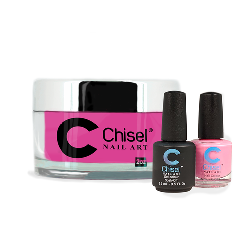 Chisel Combo 3 in 1: Dip + Gel + Lacquer  - SOLID30