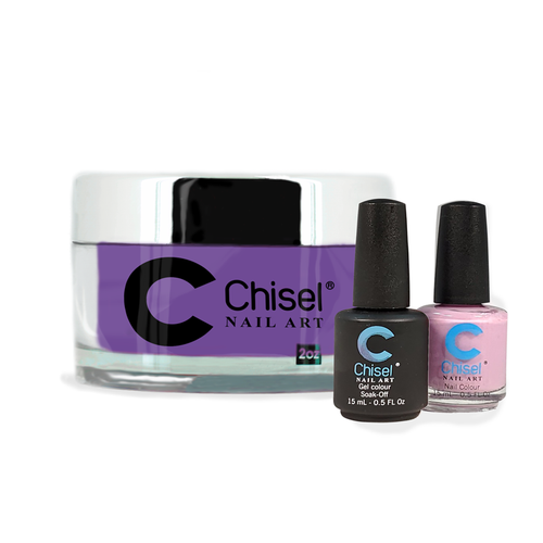 Chisel Combo 3 in 1: Dip + Gel + Lacquer  - SOLID31