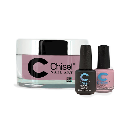 Chisel Combo 3 in 1: Dip + Gel + Lacquer  - SOLID79