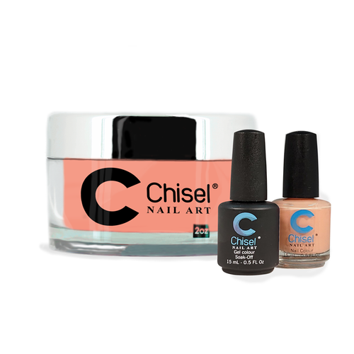 Chisel Combo 3 in 1: Dip + Gel + Lacquer  - SOLID86