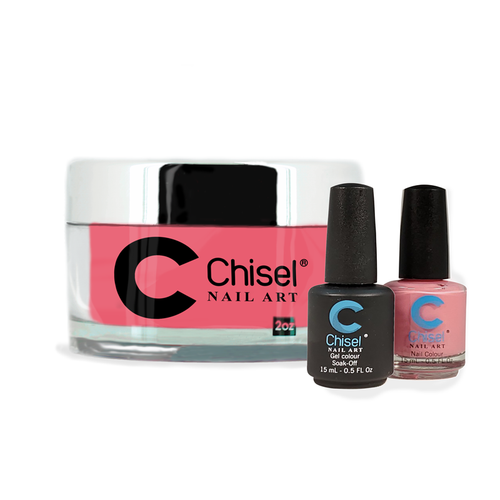 Chisel Combo 3 in 1: Dip + Gel + Lacquer  - SOLID89