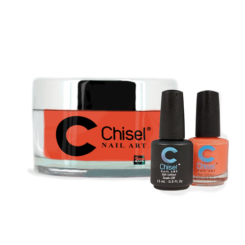 Chisel Combo 3 in 1: Dip + Gel + Lacquer  - SOLID95