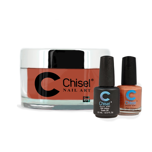Chisel Combo 3 in 1: Dip + Gel + Lacquer  - SOLID97
