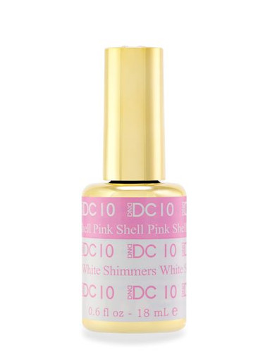 DND DC Mood - 10 Shell Pink White Shimmers