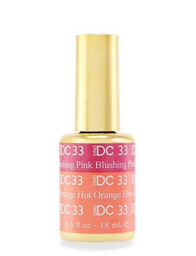 DND DC Mood - 33 Blushing Pink Hot Orange