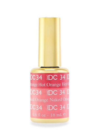 DND DC Mood - 34 Hot Orange Naked Orange