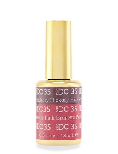 DND DC Mood - 35 Hickory Brunette Pink