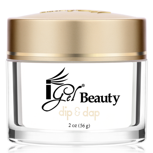 iGel Dip & Dap Powder - Pink & White - DP2 FRENCH WHITE 2oz