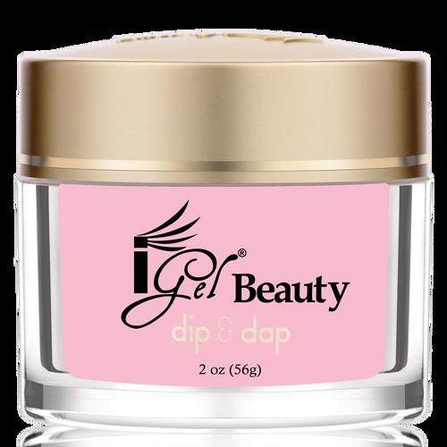 iGel Dip & Dap Powder - Pink & White - DP4 MEDIUM PINK 2oz