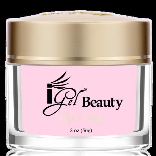 iGel Dip & Dap Powder - Pink & White - DP3 LIGHT PINK 2oz