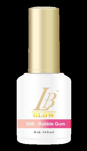 LB Glow Gel Color - #G06 Bubble Gum .6oz