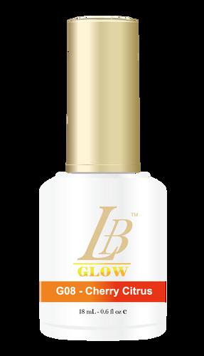 LB Glow Gel Color - #G08 Cherry Citrus .6oz