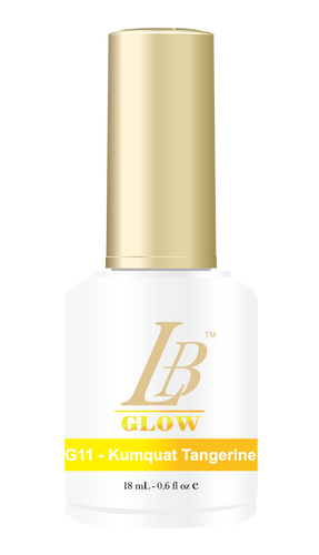 LB Glow Gel Color - #G11 Kumquat Tangerine .6oz