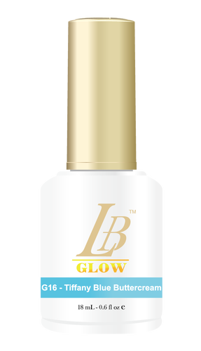 LB Glow Gel Color - #G16 Tiffany Blue Buttercream .6oz