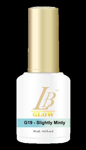 LB Glow Gel Color - #G19 Slightly Minty .6oz