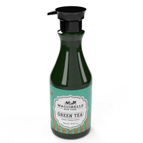 Maccibelle Hand & Body Lotion - Green Tea 25 oz - 750 ml. Made in Korea