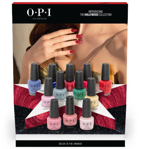 OPI Hollywood Lacquer Chipboard Display - 12pc DCH63