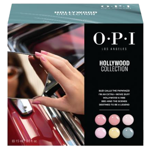 OPI GelColor - GC303 Hollywood Add-On Kit #1 - 6pc