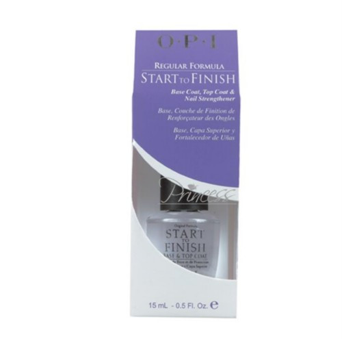 OPI Start-to-Finish Regular Formula: Nail Strengthener .5 oz