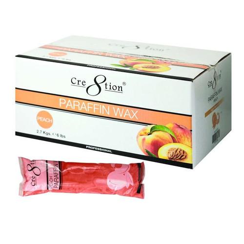 Cre8tion Paraffin Wax Peach 6 lb.