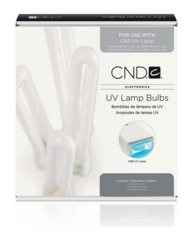 CND UV Lamp Replacement Bulbs 4pk