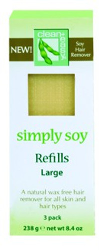 Clean+ Easy Simply Soy Wax Refill - Large Cartridges, 3 Pack