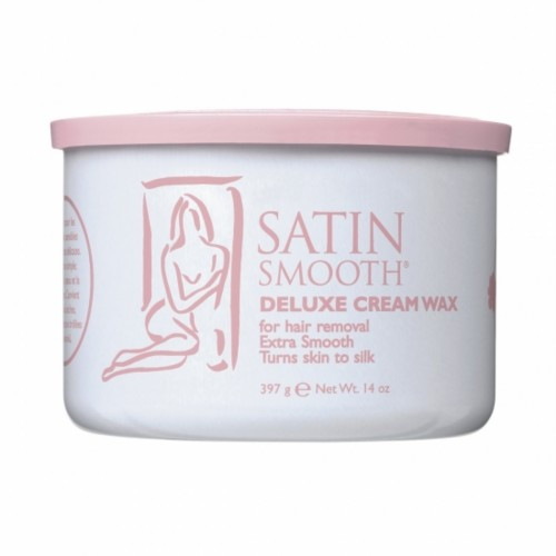 Satin Smooth Deluxe Creme Wax, 14oz