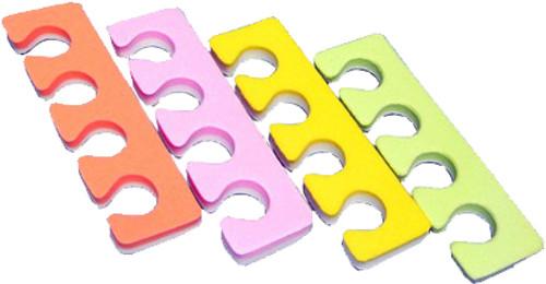 Toe Separators Multi Color - 100 Pairs (TS2)