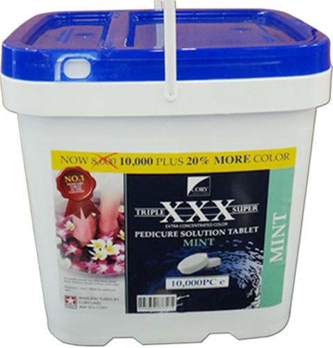 XXX Triple Super Tablets Mint, 10,000 per bucket