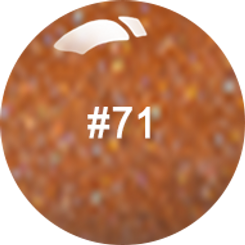 ANC Powder 2 oz - #071 Pure Orange Glitter