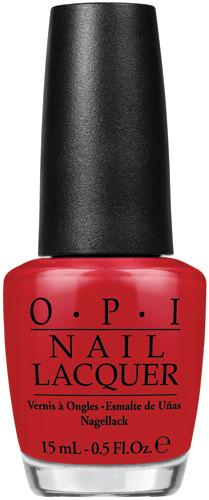OPI Lacquer - #NLA70 - RED HOT RIO .5 oz