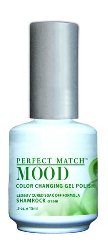 LeChat Mood Color Changing Gel Polish - MPMG22 Shamrock