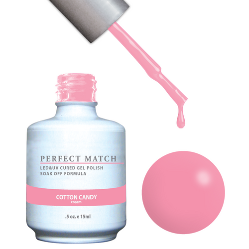 PERFECT MATCH Gel Polish + Lacquer - PMS119 COTTON CANDY