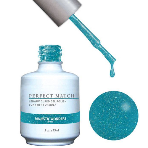 PERFECT MATCH Gel Polish + Lacquer - PMS121 MAJESTIC WONDERS